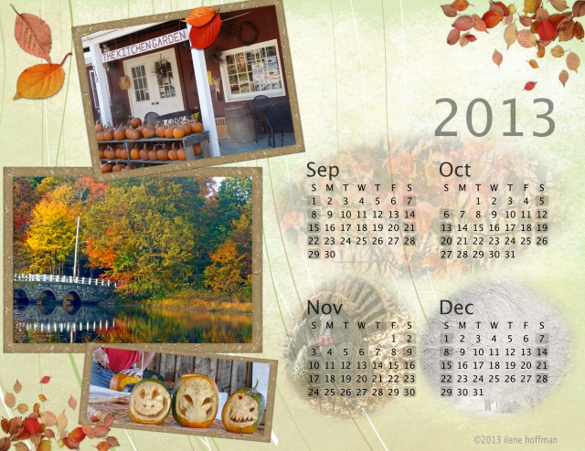 Fourth Quarter 2013 Calendar