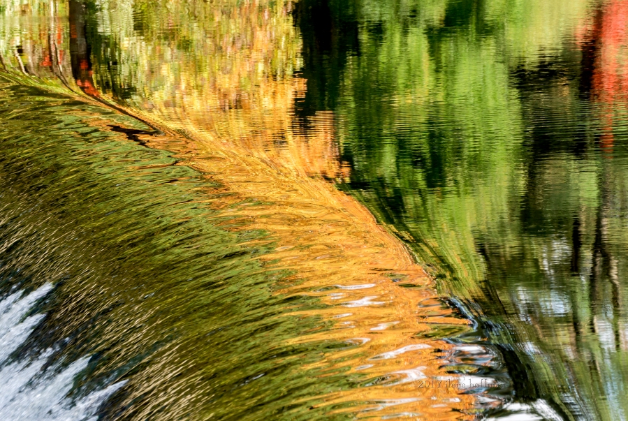 South Natick Dam Reflection