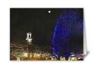 Needham Blue Tree Card