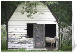 Owen's Barn and Lamb